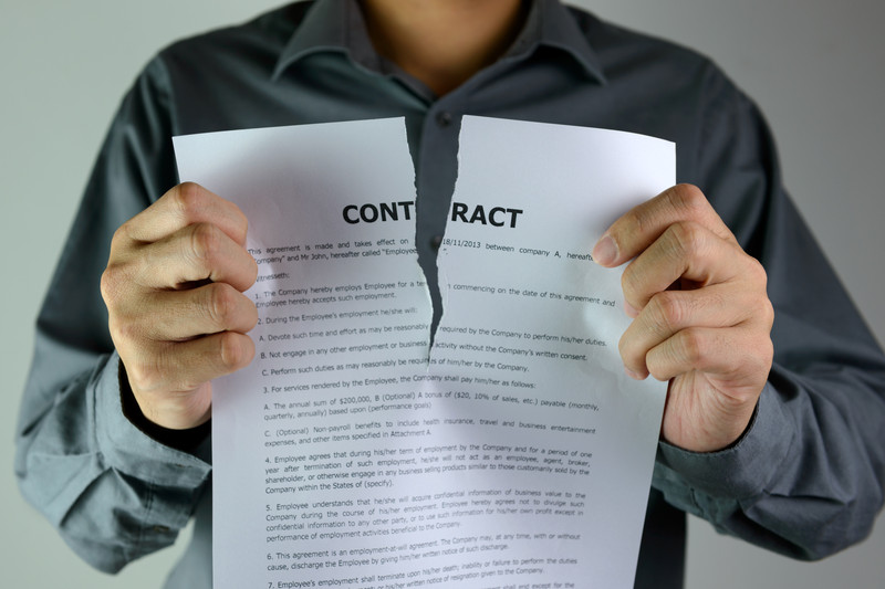 When A Breach Of Contract Constitutes An Accident Expert