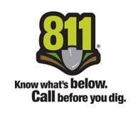 811 - Know what's below. Call before you dig.