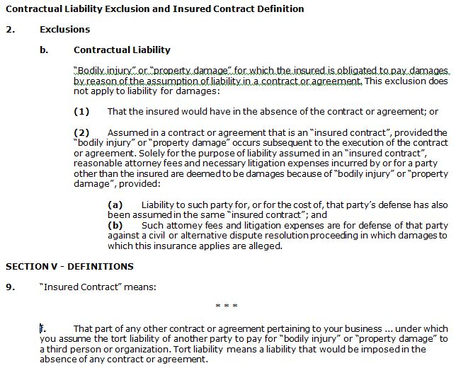 CG 00 01 10 01 Commercial General Liability (CGL) Insurance Policy Form