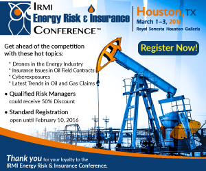 Energy Risk & Insurance Conference 2016