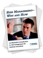 Risk Management Why and How