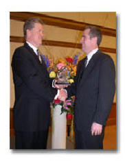 2003 Horizon Award Winner with Jack Gibson