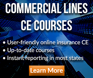 Register for Commercial Lines CE Courses