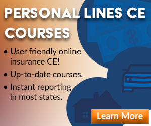 Register for Personal Lines CE Courses