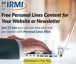 Free Personal Lines White Paper