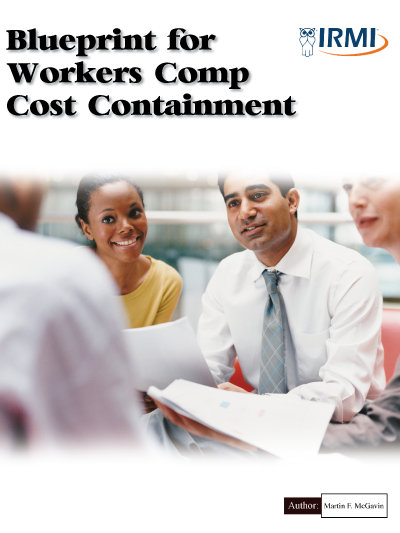 Blueprint for Workers Comp Cost Containment - Print Edition