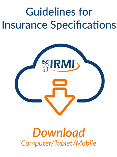 Guidelines for Insurance Specifications