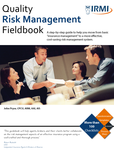Quality Risk Management Fieldbook - Print Edition