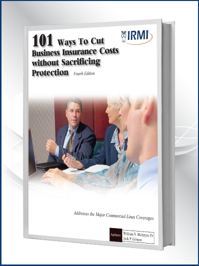 101 Ways to Cut Business Insurance Costs Book