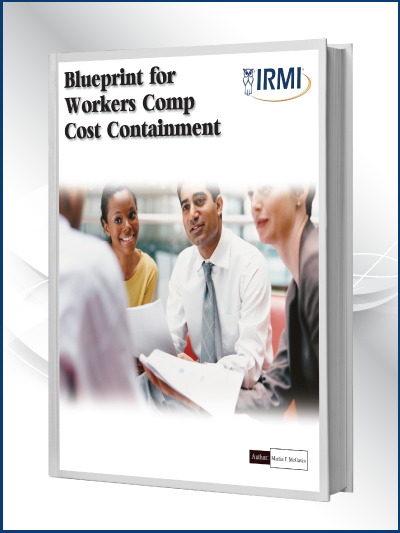 Blueprint for Workers Comp Cost Containment Book