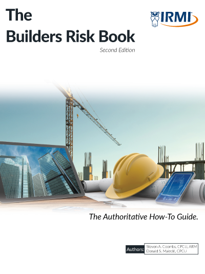The Builders Risk Book - Print Edition