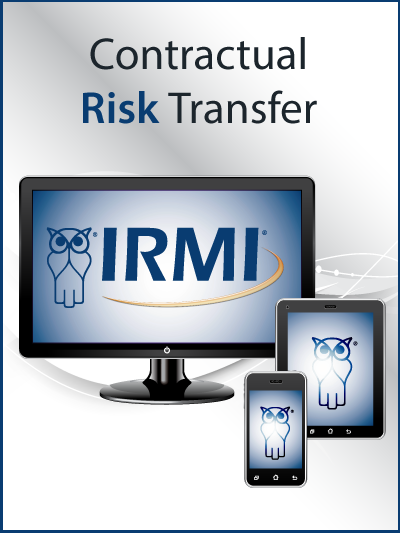 Online Resources Contractual Risk Transfer