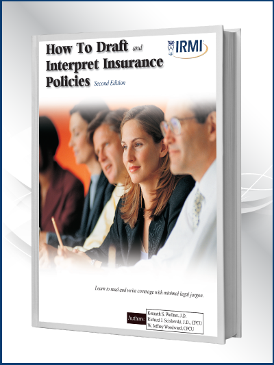 How to Draft and Interpret Insurance Policies