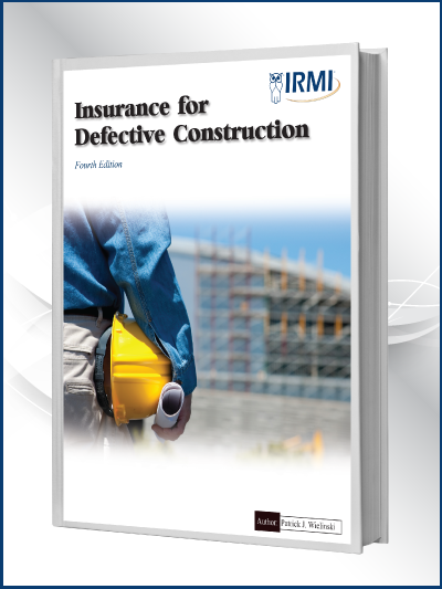 Insurance for Defective Construction